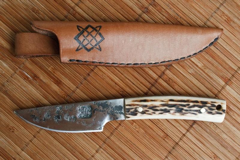 Рукоять для ножа своими руками из рога